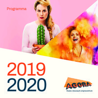 AGORA Theater brochure seizoen 2019-2020