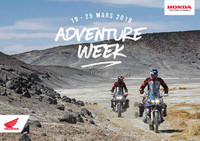 Honda Adventure Week 2018 BE-FR