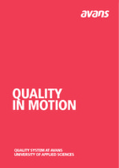 Quality in Motion, Avans University of Applied Sciences